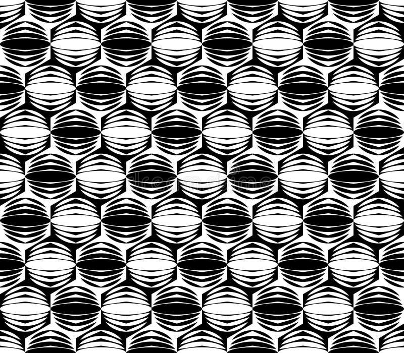 Modelo diagonal monocromático inconsútil del diseño stock de ilustración
