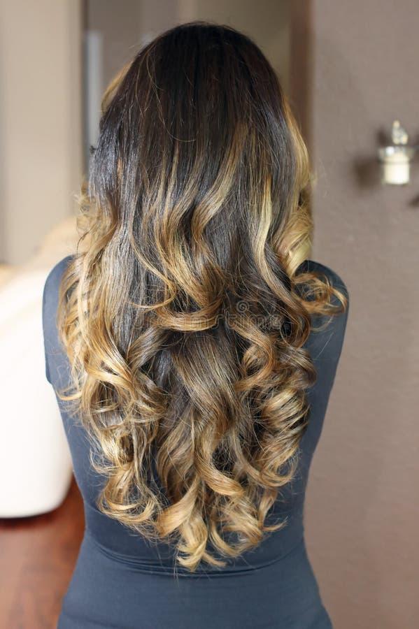 Modelo do cabelo