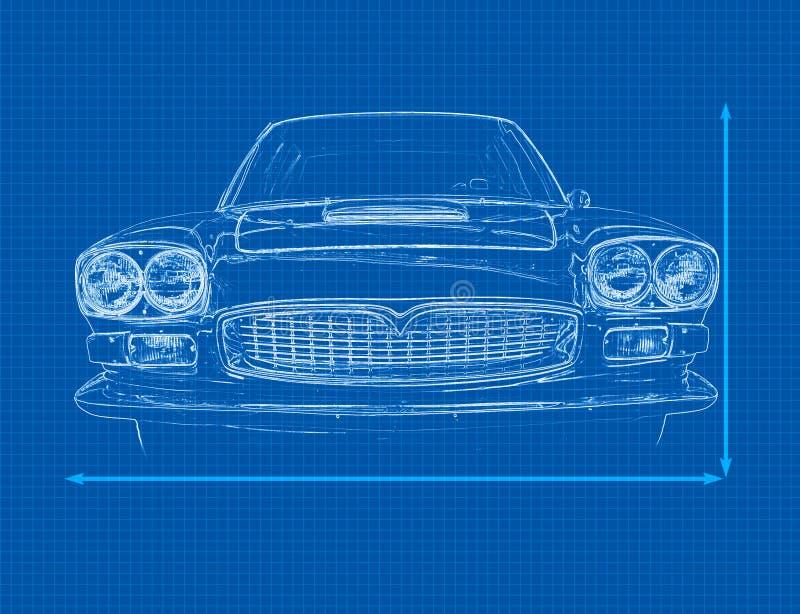 Download Modelo do carro ilustração stock. Ilustração de ninguém - 10050632