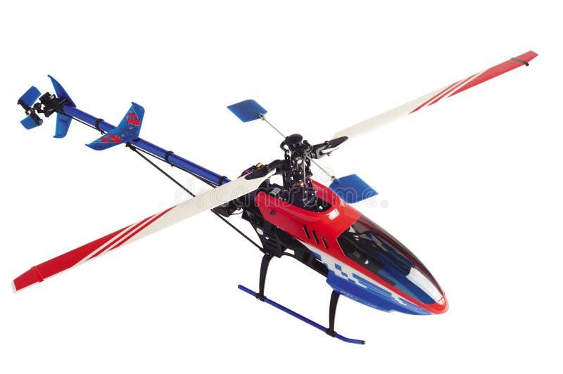 Modelo do helicóptero foto de stock