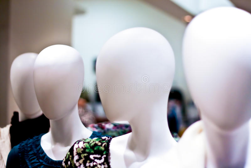 Modelo do Mannequin do manequim imagem de stock royalty free
