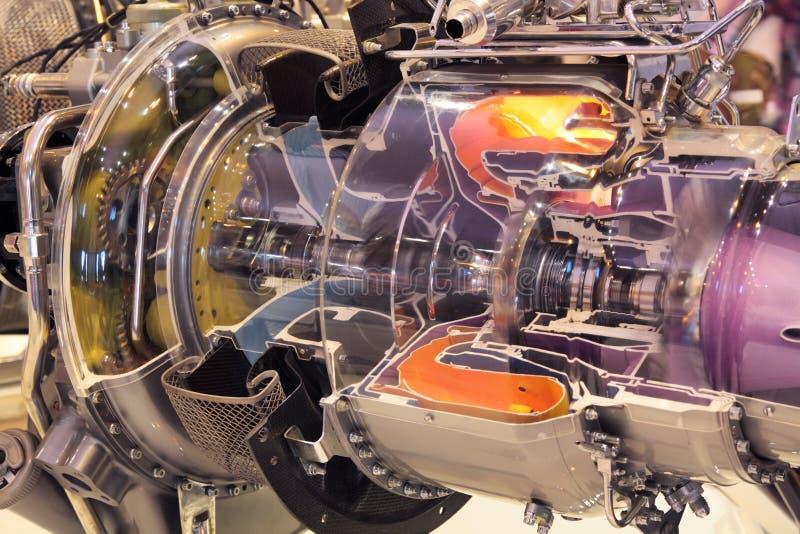 Modelo do motor fotografia de stock
