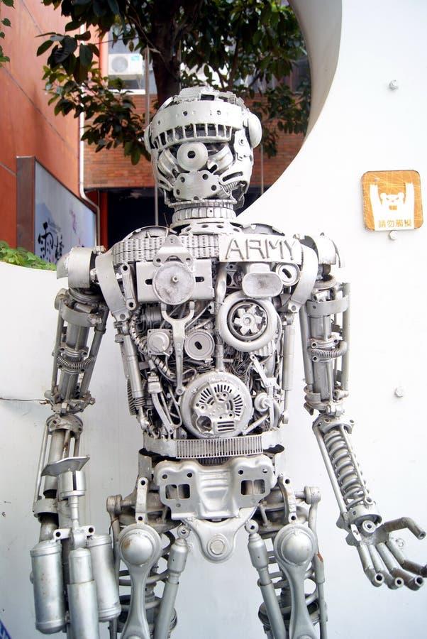 Download Modelo do robô imagem editorial. Imagem de ásia, modelo - 26512130