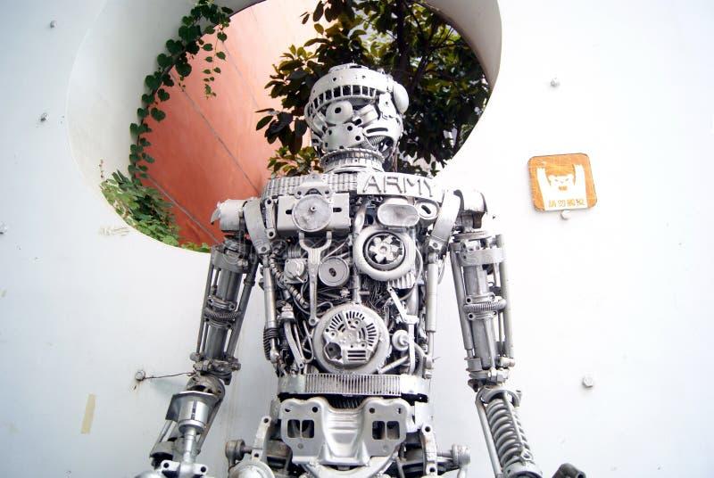Download Modelo do robô foto de stock editorial. Imagem de estrutura - 26512158