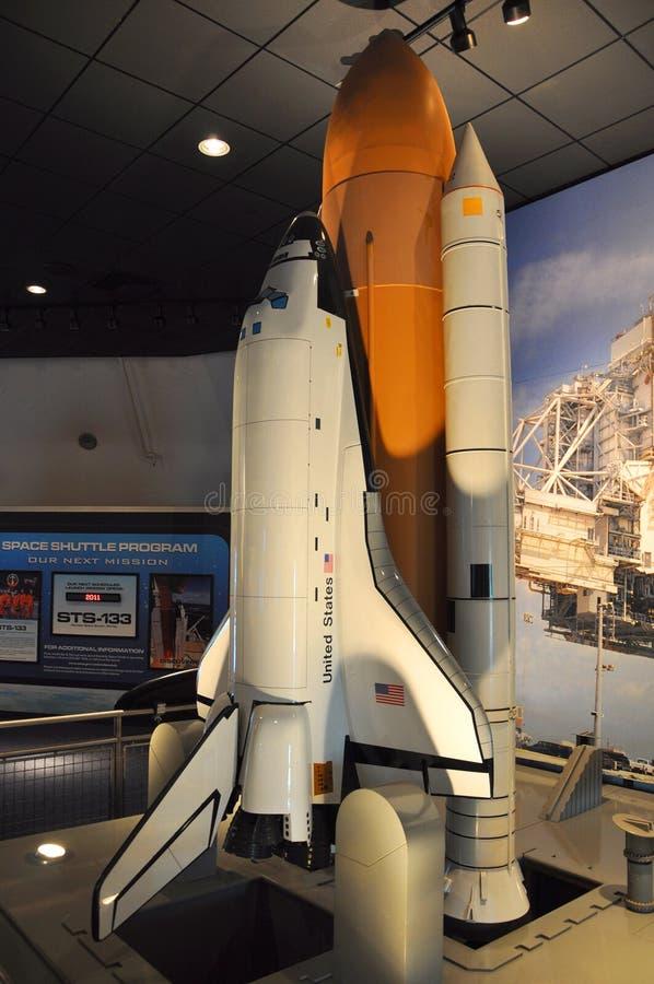 Modelo do vaivém espacial fotografia de stock royalty free