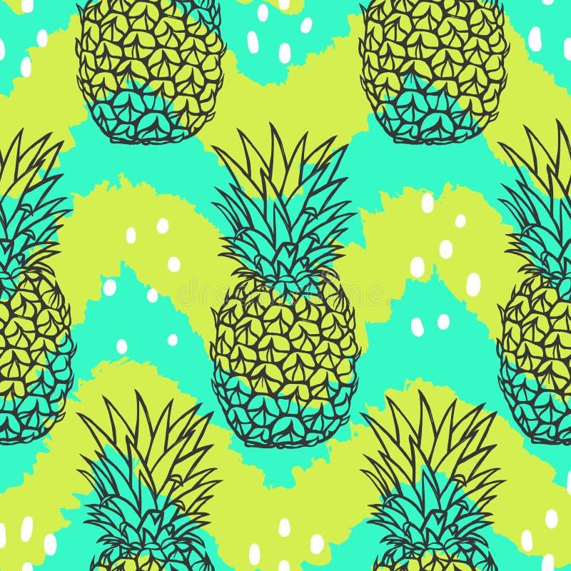 Modelo elegante brillante de la fruta libre illustration
