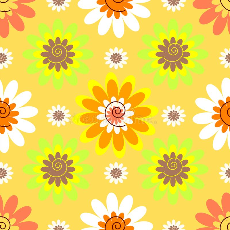 Modelo En Colores Pastel Floral Inconsútil Abstracto Fotos De Archivo