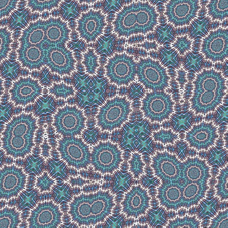 Modelo en estilo abstracto en fondo ligero Diseño moderno del fondo del color azul abstracto Fondo azul de la célula fotografía de archivo