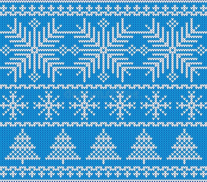 Modelo escandinavo de la Navidad stock de ilustración