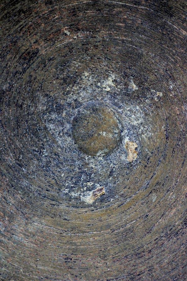 Modelo espiral del hierro rústico con el detalle interesante fotos de archivo libres de regalías