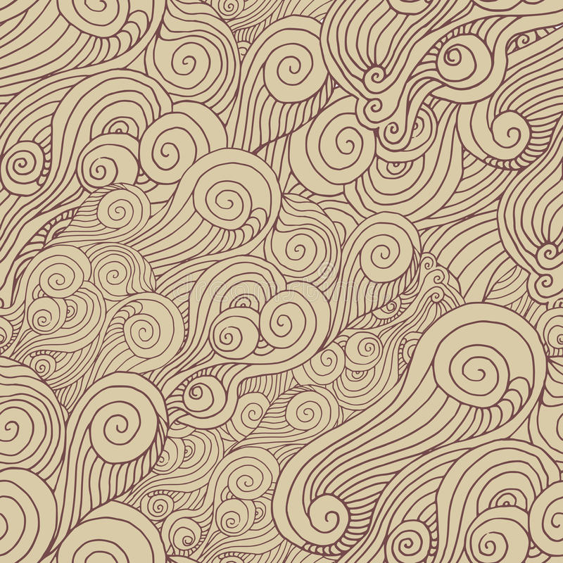 Modelo espiral del vector stock de ilustración