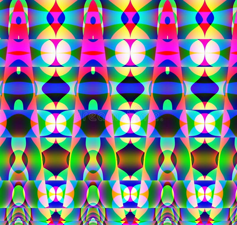 Modelo extraño de los pilares libre illustration
