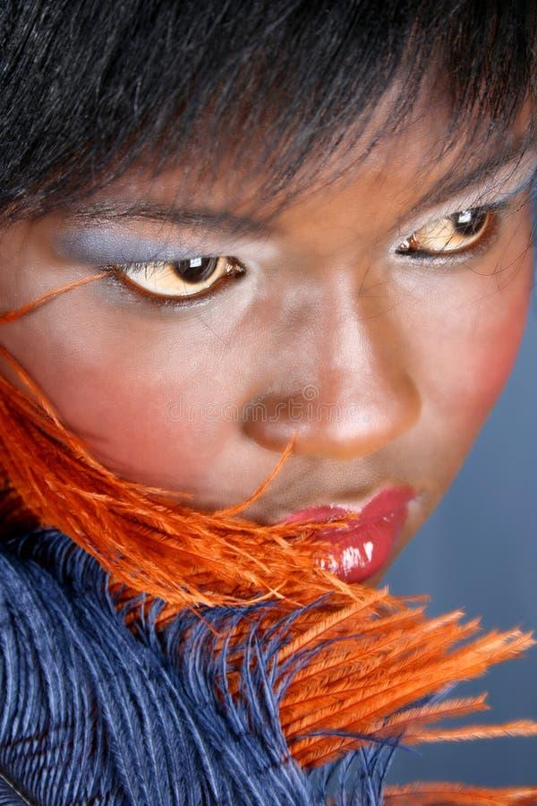 Modelo femenino foto de archivo