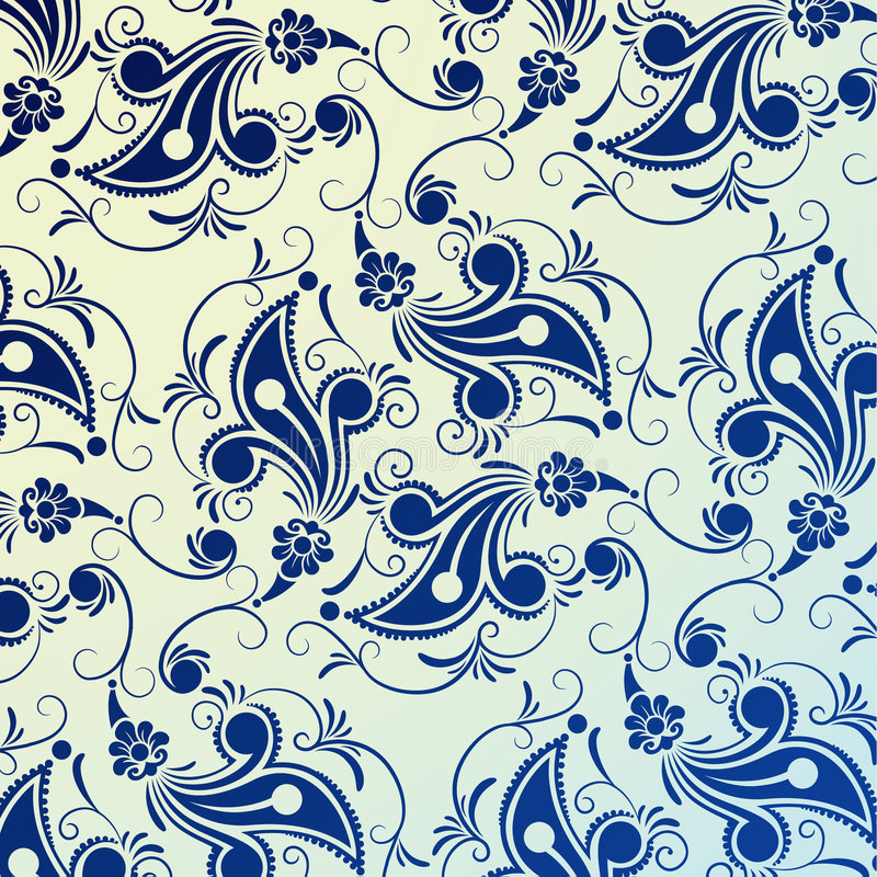 Modelo floral libre illustration