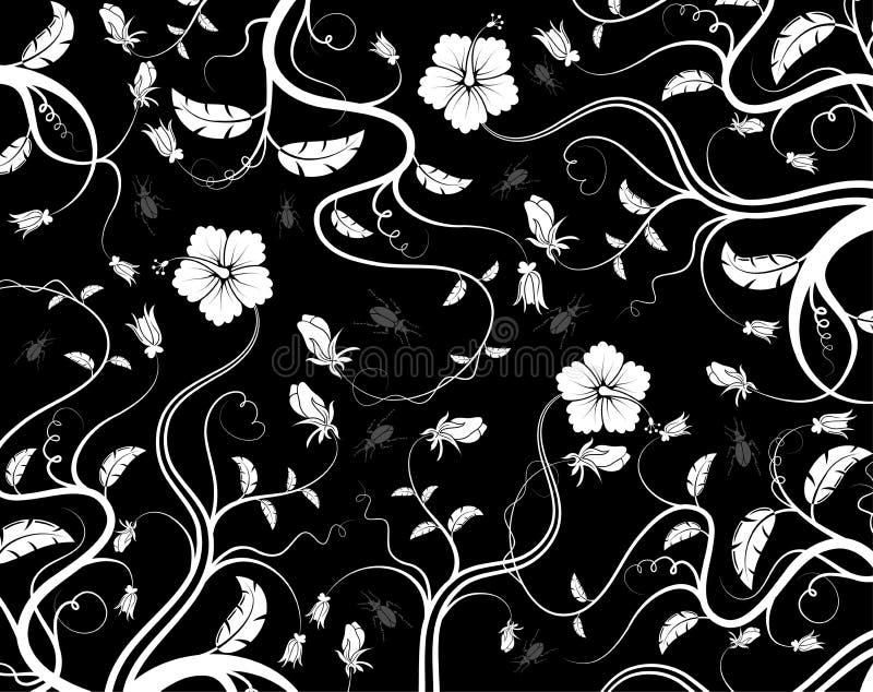 Modelo floral abstracto, vecto libre illustration