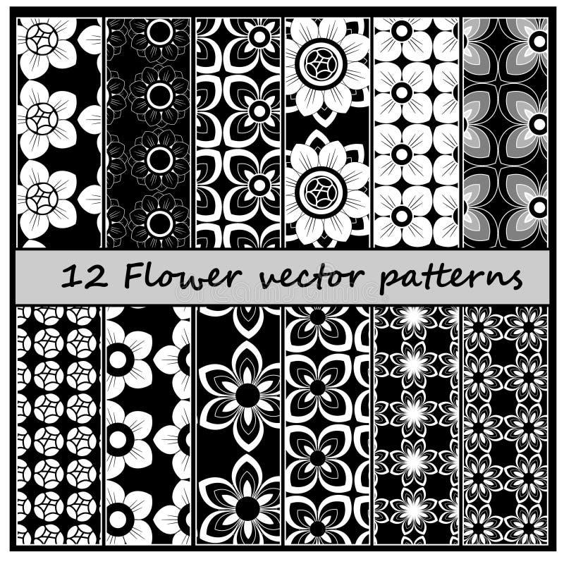 modelo floral del vector 12 libre illustration