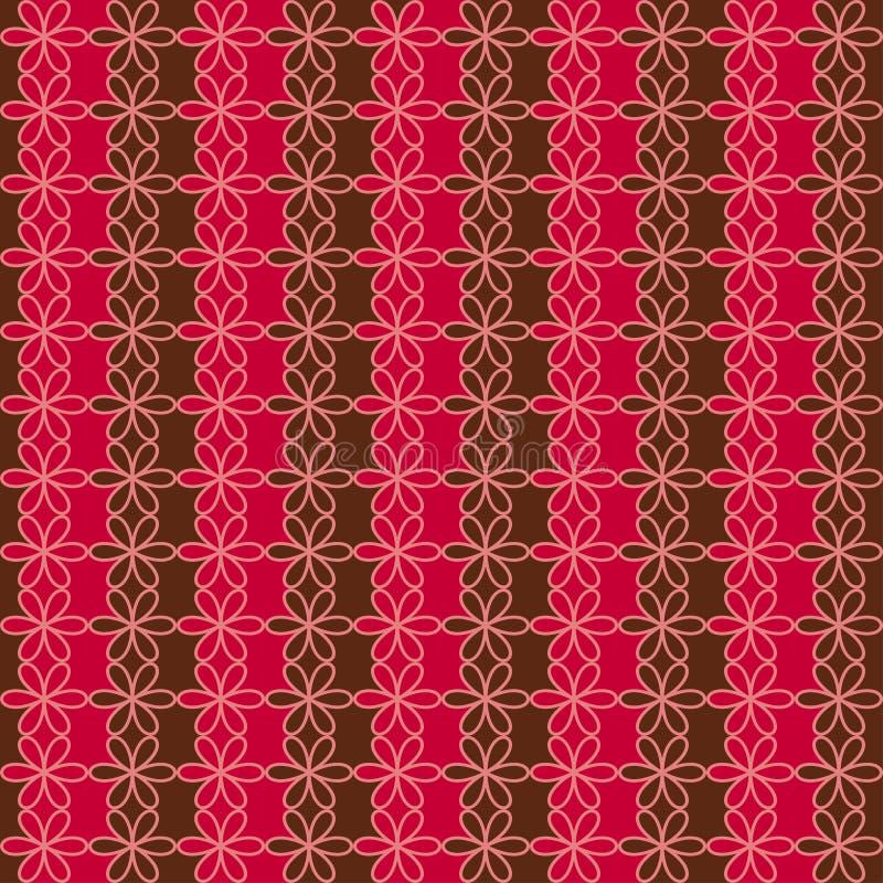 Modelo floral inconsútil romántico La textura sin fin se puede utilizar para imprimir sobre la tela y el papel, reservación del p libre illustration