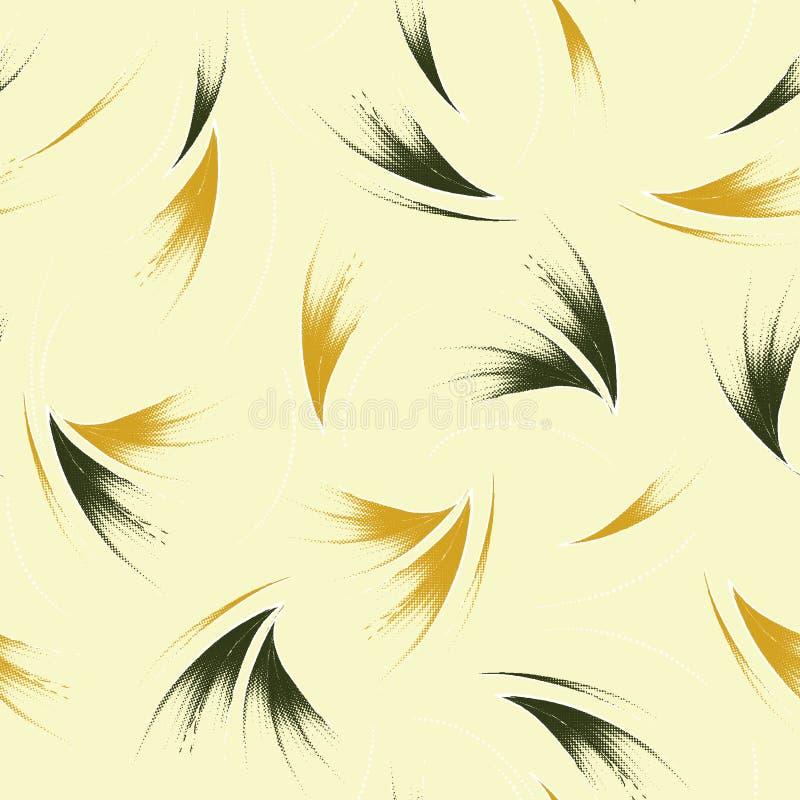 Modelo floral incons?til stock de ilustración