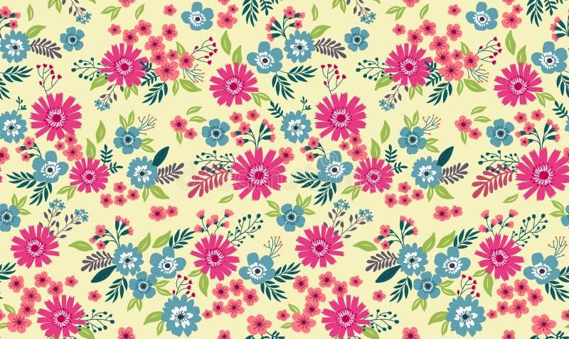 Modelo floral lindo ilustración del vector