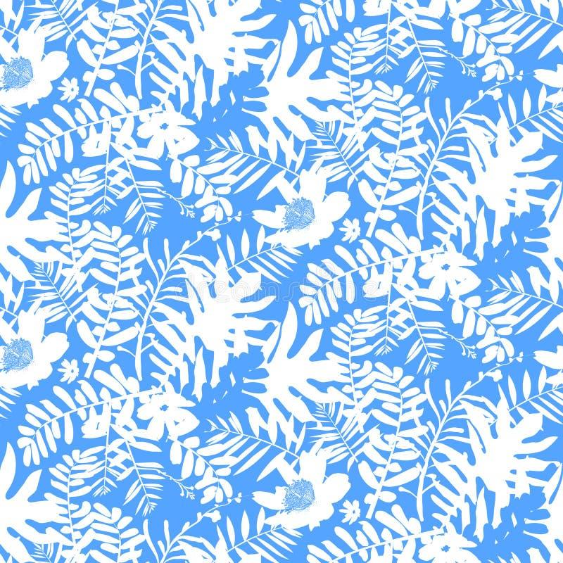 Modelo floral tropical libre illustration