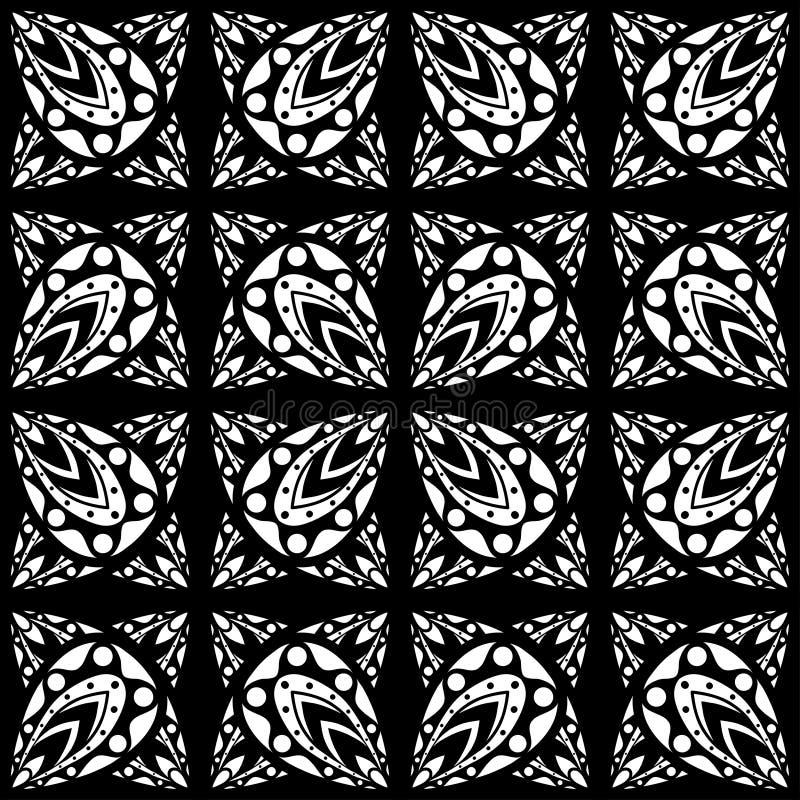 Modelo geométrico ilustración del vector