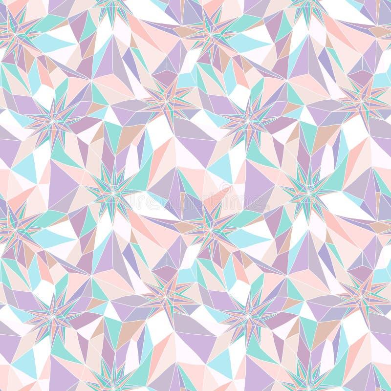 Modelo geométrico abstracto inconsútil libre illustration