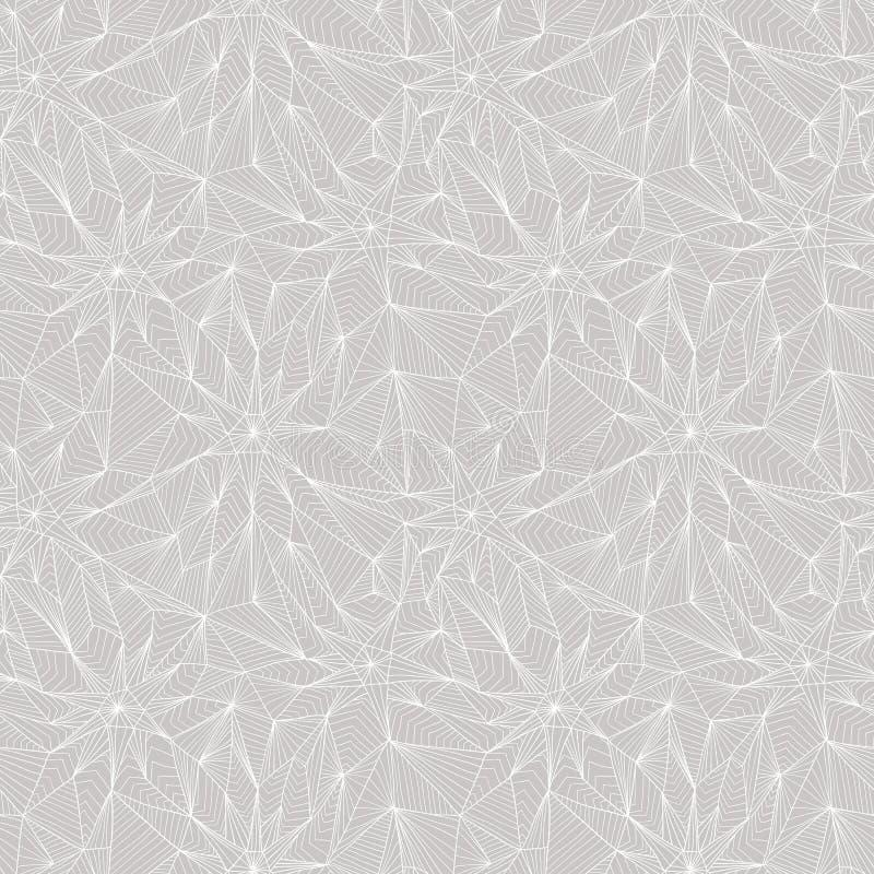 Modelo geométrico abstracto inconsútil stock de ilustración