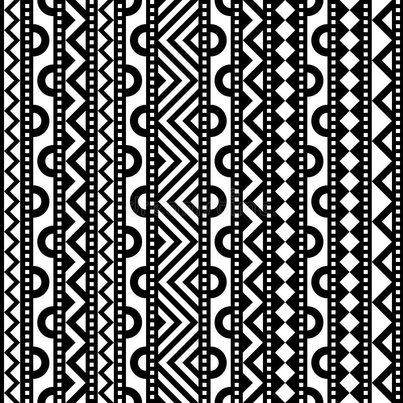 Modelo geométrico del contraste stock de ilustración