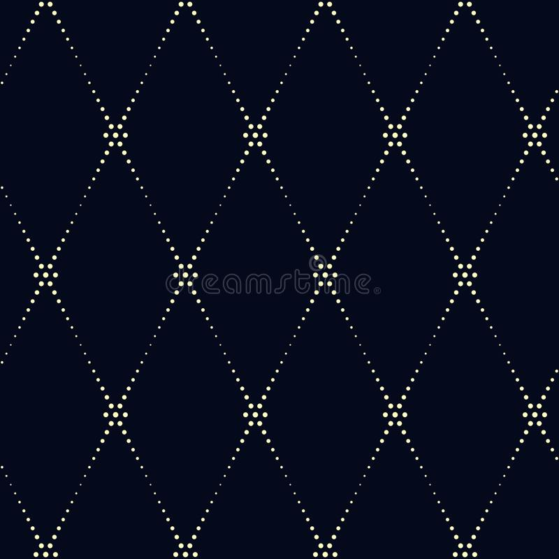 Modelo geométrico del kimono Ornamento diagonal de línea discontinua en un ind libre illustration