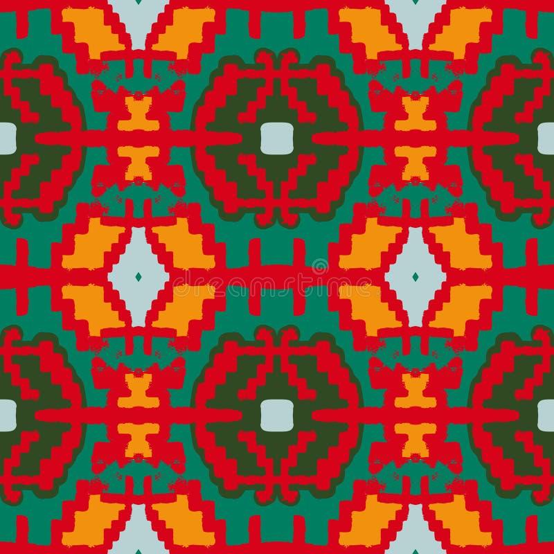 Modelo geométrico del nativo americano libre illustration