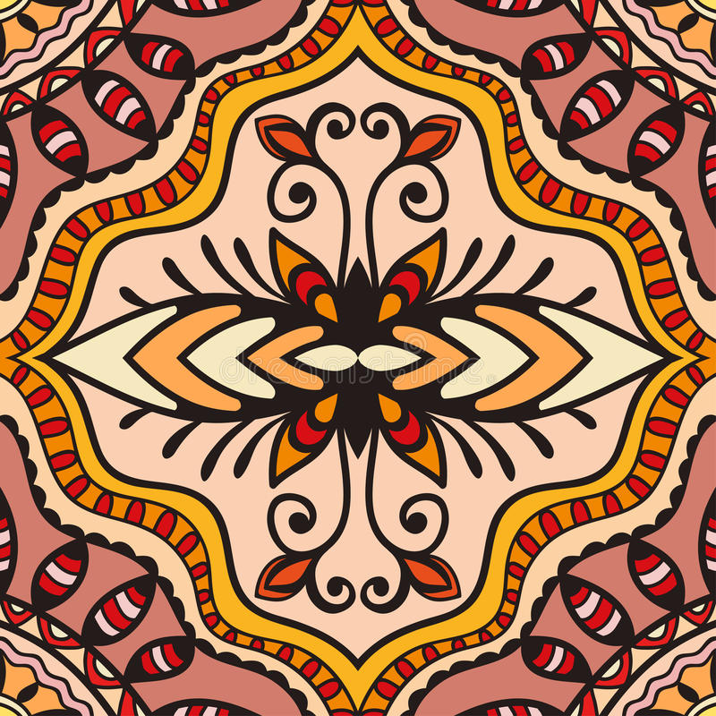 Modelo geométrico del vector con textura inconsútil ilustración del vector