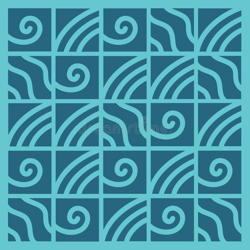 Modelo geométrico del vector del fondo abstracto libre illustration