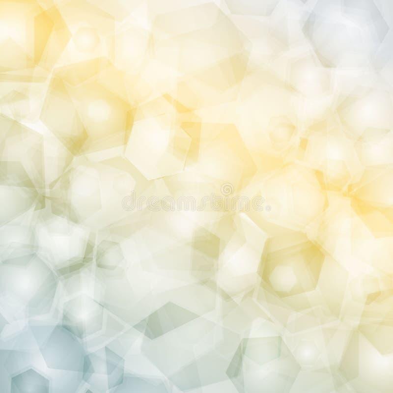 Modelo geométrico, fondo de los triángulos, diseño poligonal libre illustration