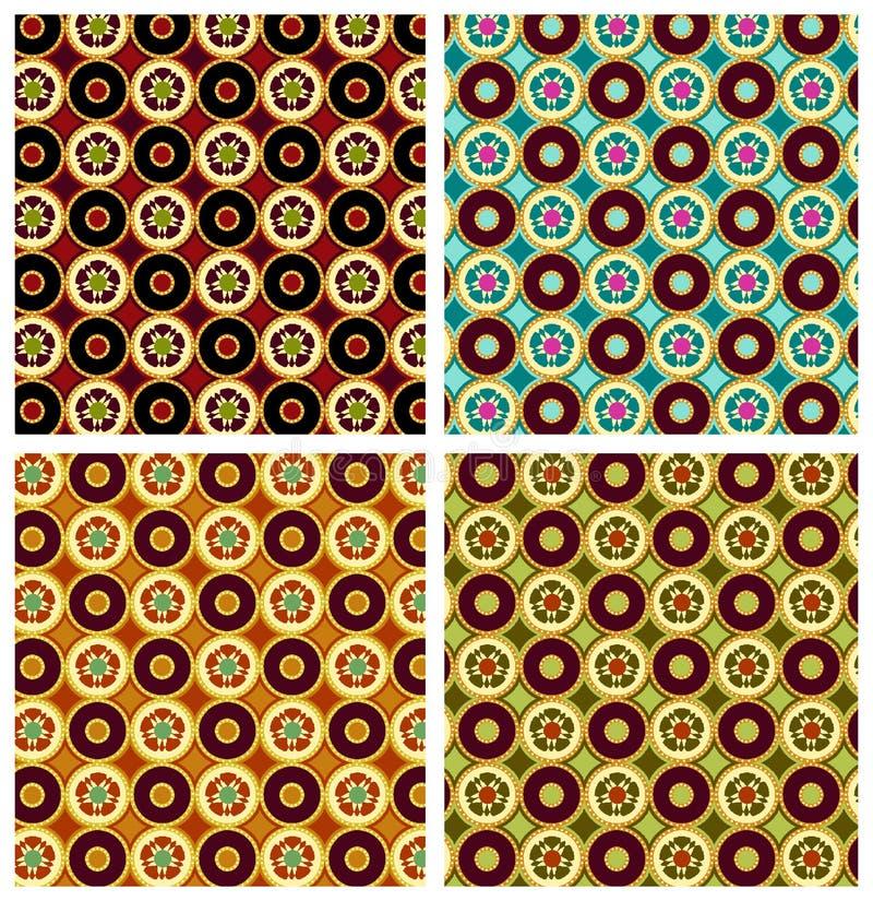 Modelo geométrico inconsútil ilustración del vector