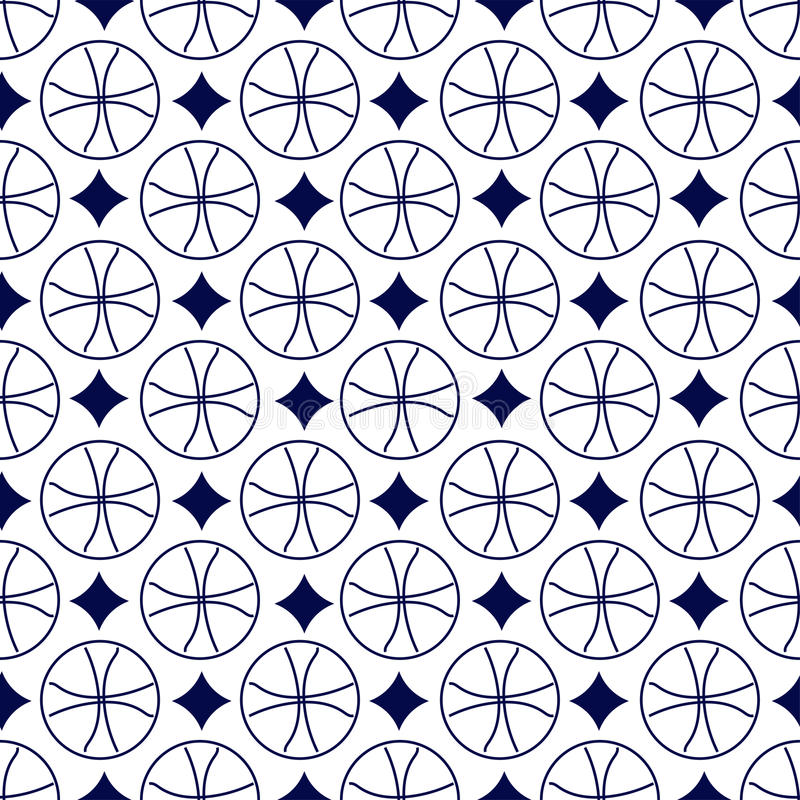 Modelo geométrico inconsútil fotos de archivo