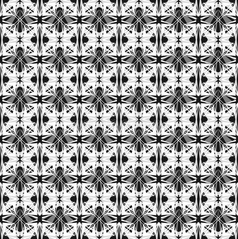 Modelo geométrico inconsútil abstracto ilustración del vector