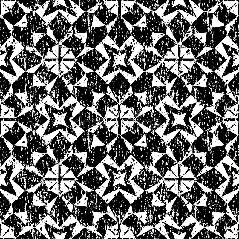 Modelo geométrico inconsútil en estilo moderno del inconformista libre illustration