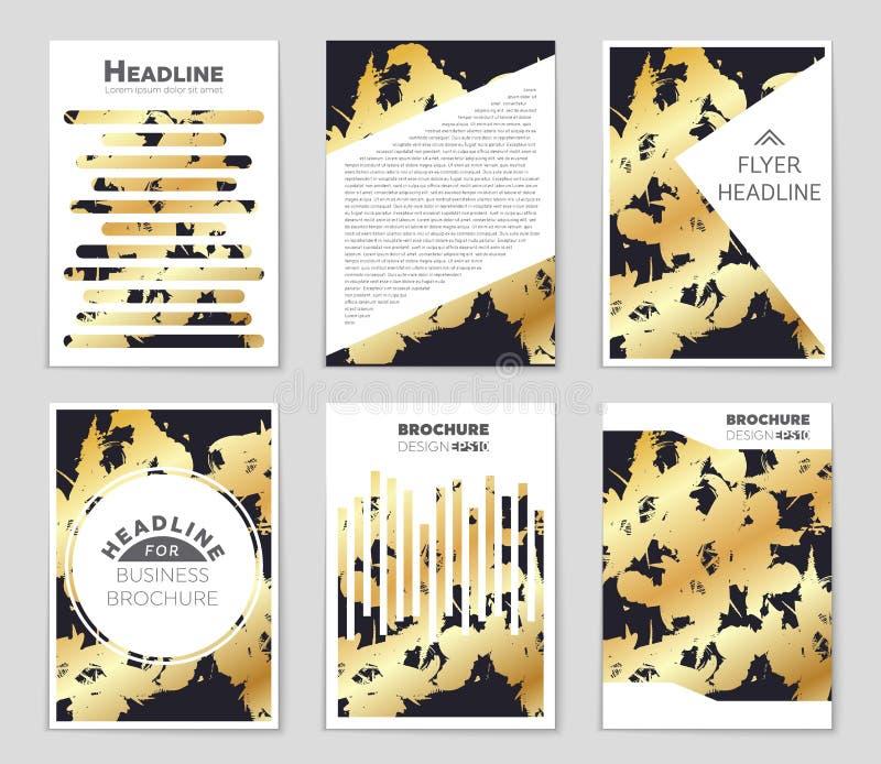 Modelo geométrico monocromático del concepto abstracto Fondo mínimo blanco y negro Plantilla creativa del ejemplo inconsútil libre illustration