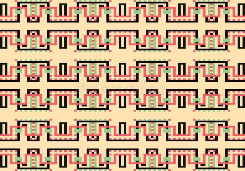 Modelo geométrico multicolor abstracto Vector el modelo inconsútil libre illustration