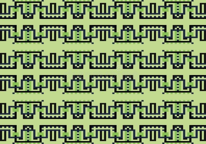 Modelo geométrico multicolor abstracto Vector el modelo inconsútil stock de ilustración