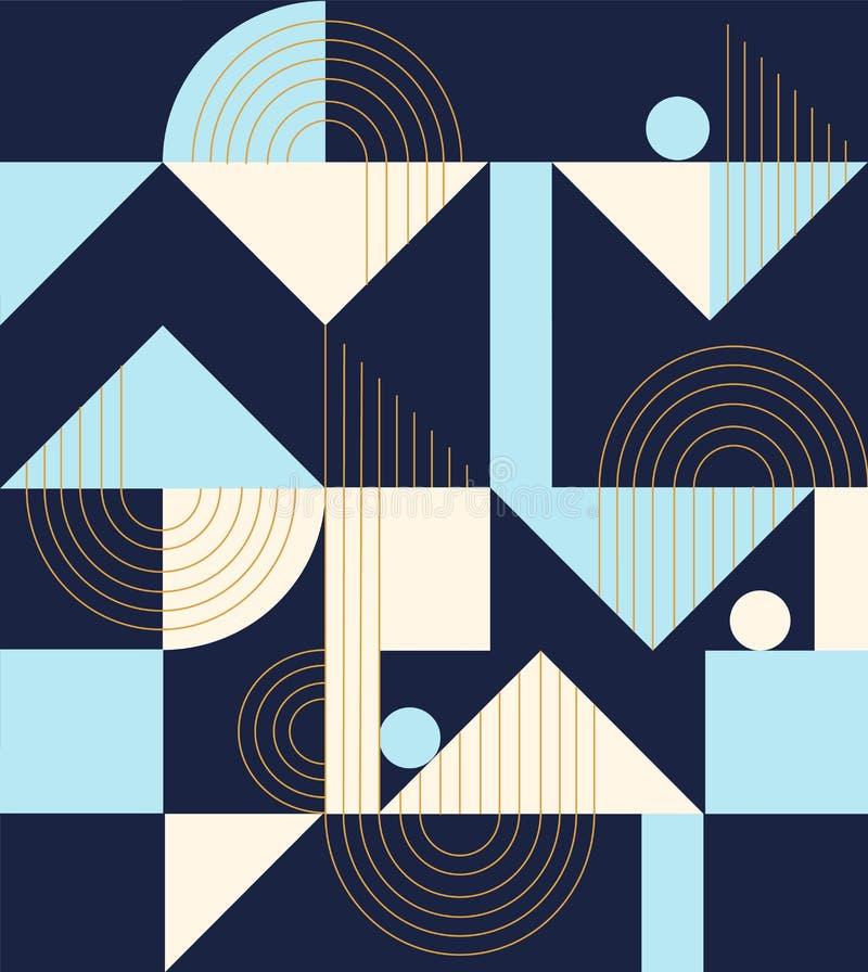 Modelo geom?trico Ornamento ?tnico Fondo abstracto - l?neas coloridas Ilustraci?n del vector libre illustration