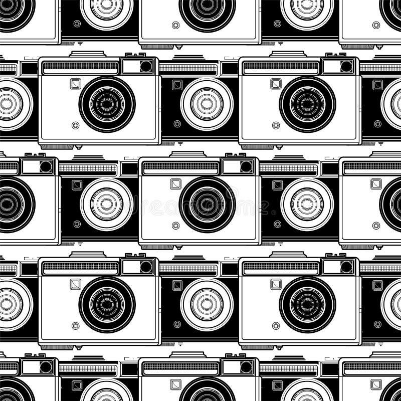 Modelo gráfico de la cámara stock de ilustración