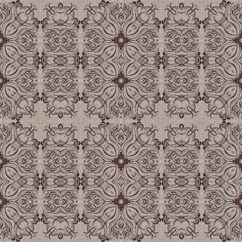 Download Modelo Gráfico Inconsútil En Lona Stock de ilustración - Ilustración de ornamental, fondo: 42434168