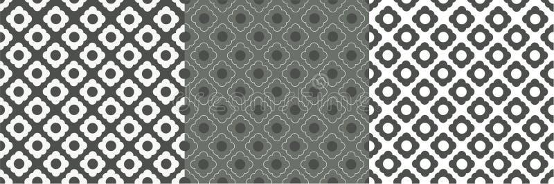 Modelo gris de la célula blanca ilustración del vector