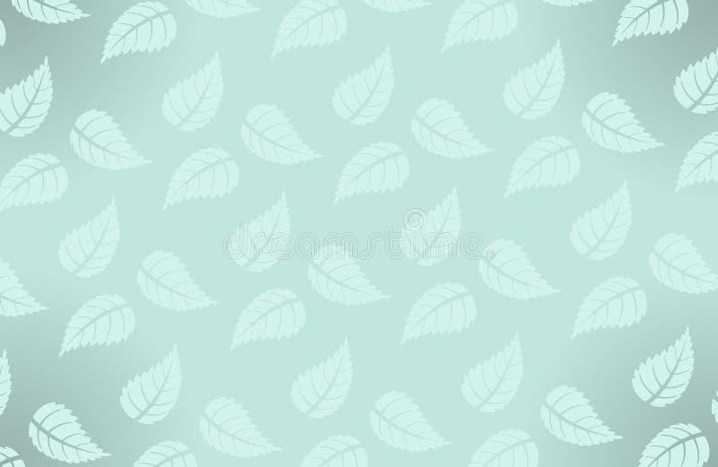 Modelo hawaiano simple del vector con las hojas ilustración del vector