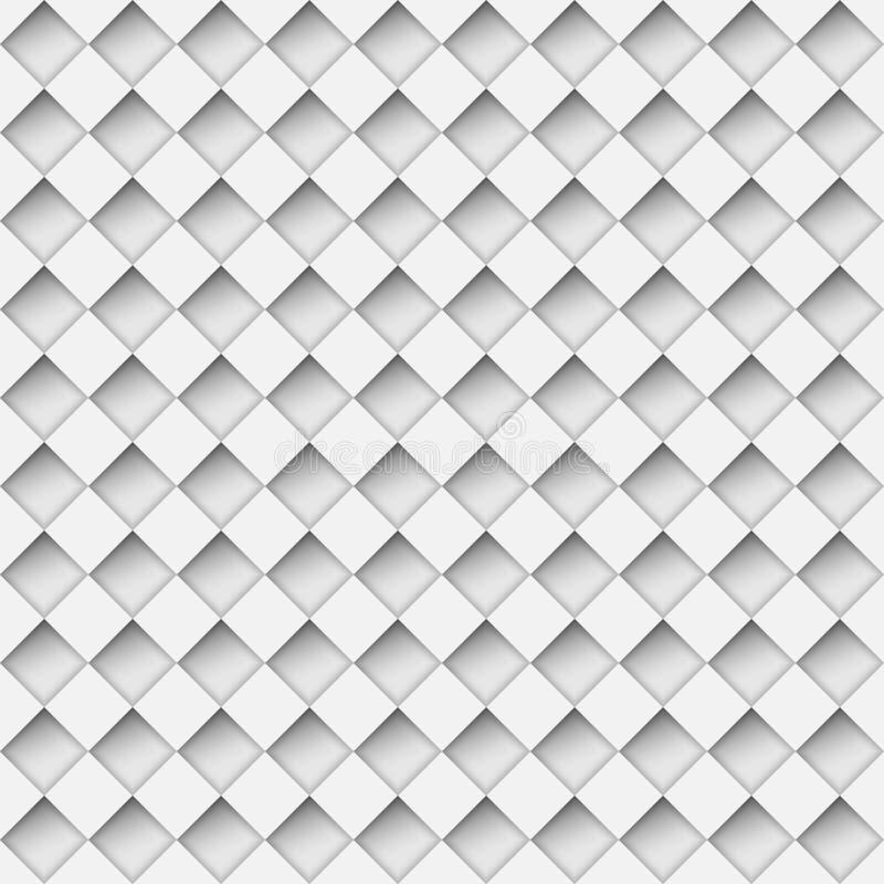 Modelo hecho muescas en del diamante ilustración del vector