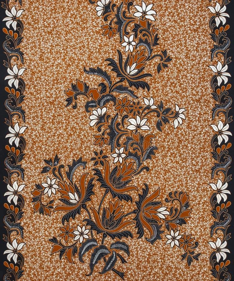 Modelo hermoso del batik fotografía de archivo