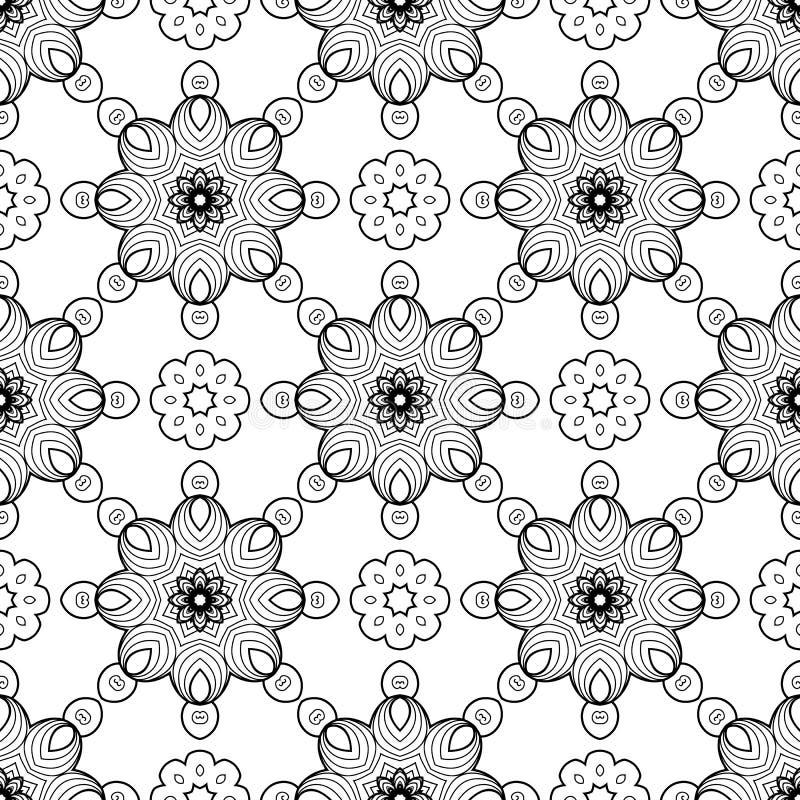 Modelo inconsútil abstracto ilustración del vector
