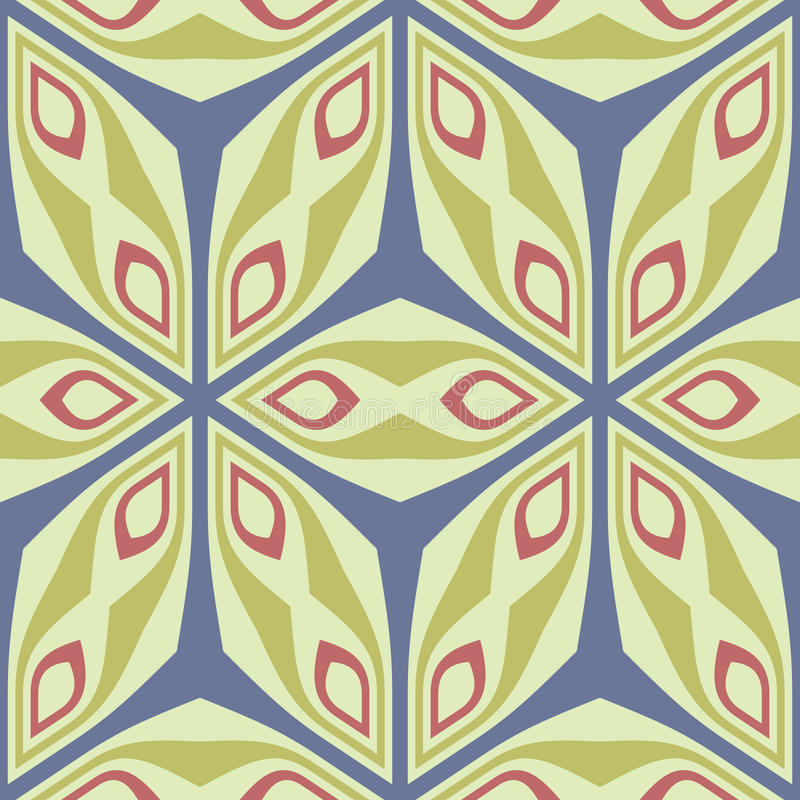 Modelo inconsútil abstracto. ilustración del vector