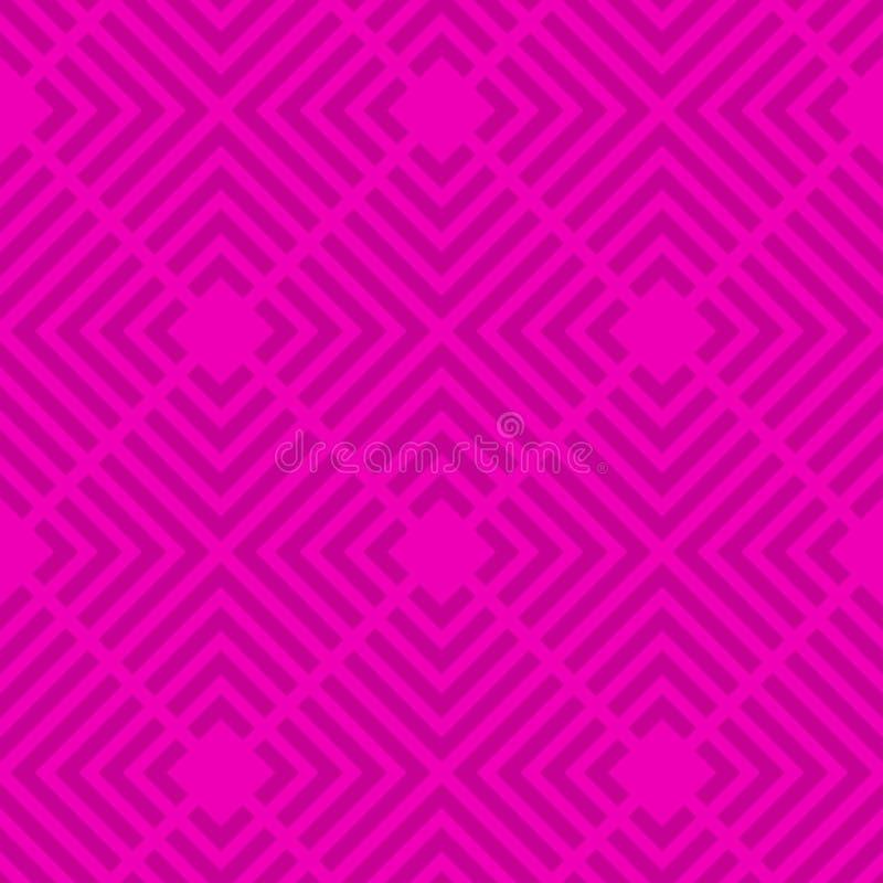 Modelo inconsútil abstracto del enrejado Enrejado colorido textura con estilo moderna Repetición de las tejas geométricas de los  ilustración del vector